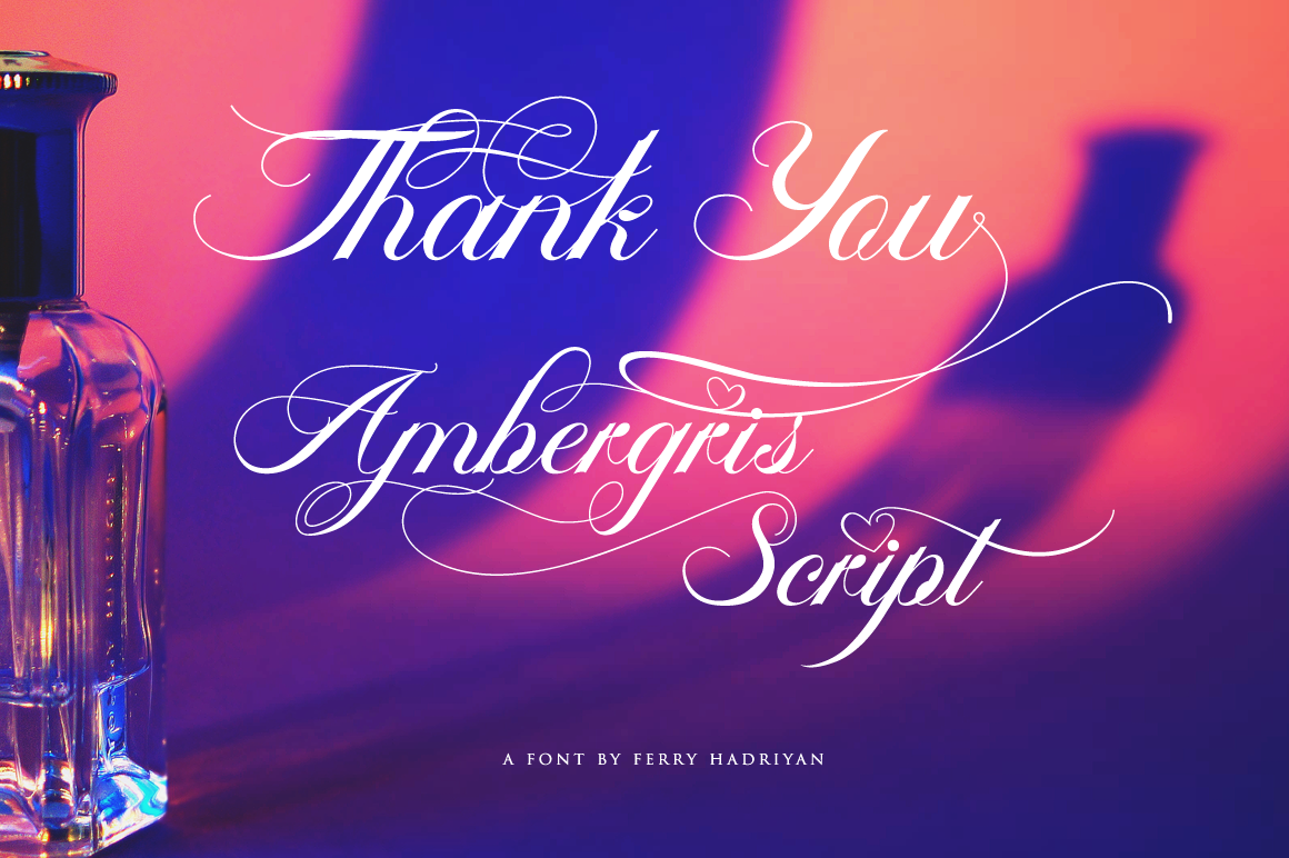 Print on Demand: Ambergris Script & Handwritten Font By feydesign - Image 10