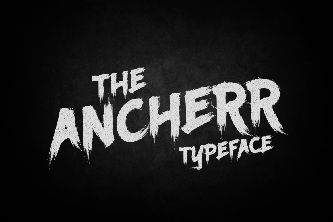 Ancherr Font By tamaputra