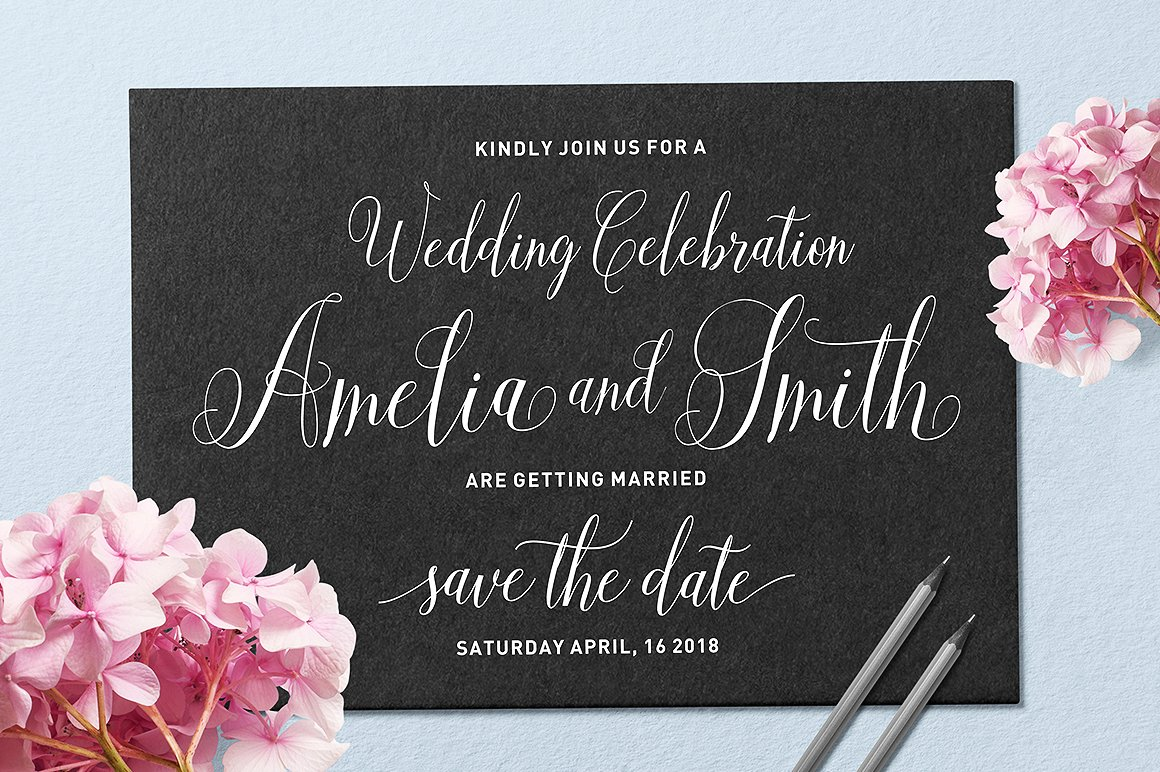 Aneisha Script Font By Solidtype Image 2