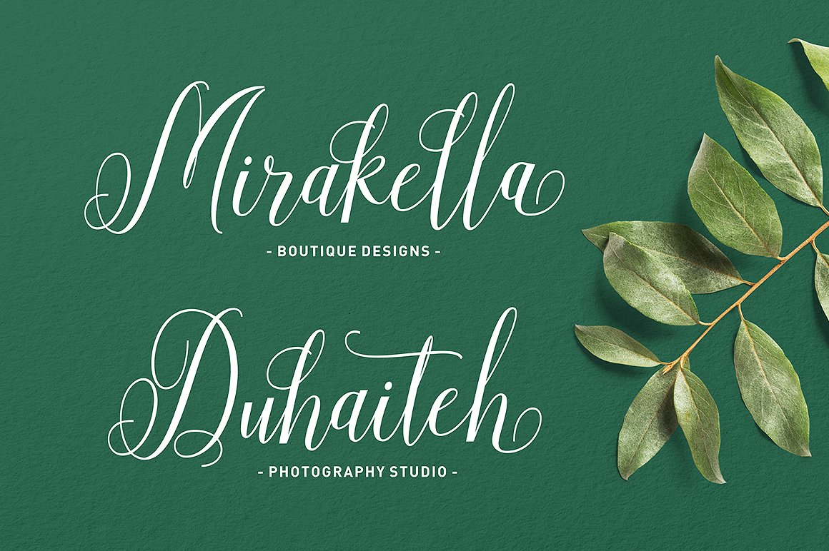 Aneisha Script Font By Solidtype Image 3