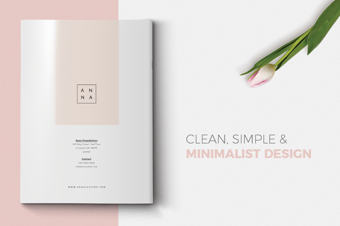 Print on Demand: Anna Lookbook Fashion Graphic Print Templates By onedsgn - Image 6