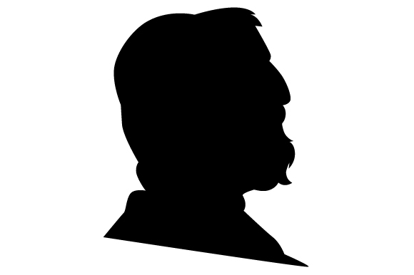 Download Free Antique Cameo Men S Silhouette Svg Cut File By Creative Fabrica for Cricut Explore, Silhouette and other cutting machines.