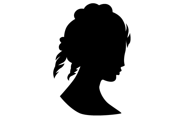 Download Free Antique Cameo Women S Silhouette Svg Cut File By Creative for Cricut Explore, Silhouette and other cutting machines.