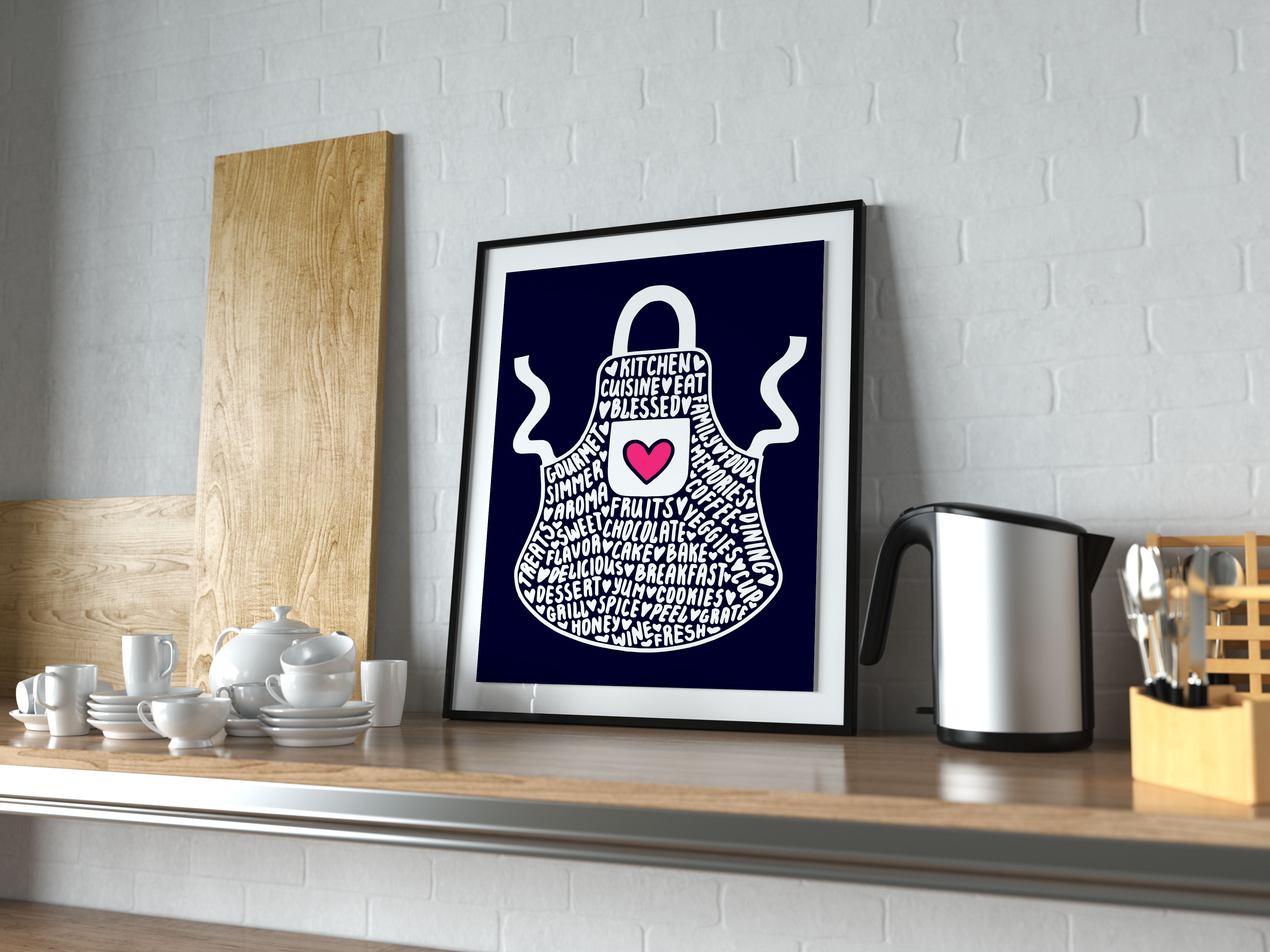 Apron SVG Graphic Crafts By CrystalGiftsStudio - Image 2