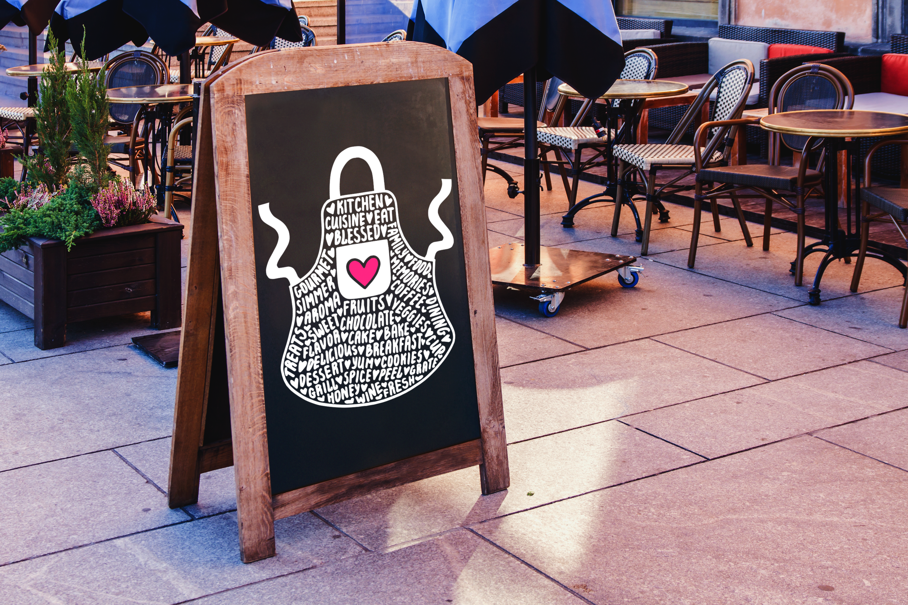 Apron SVG Graphic Crafts By CrystalGiftsStudio - Image 3
