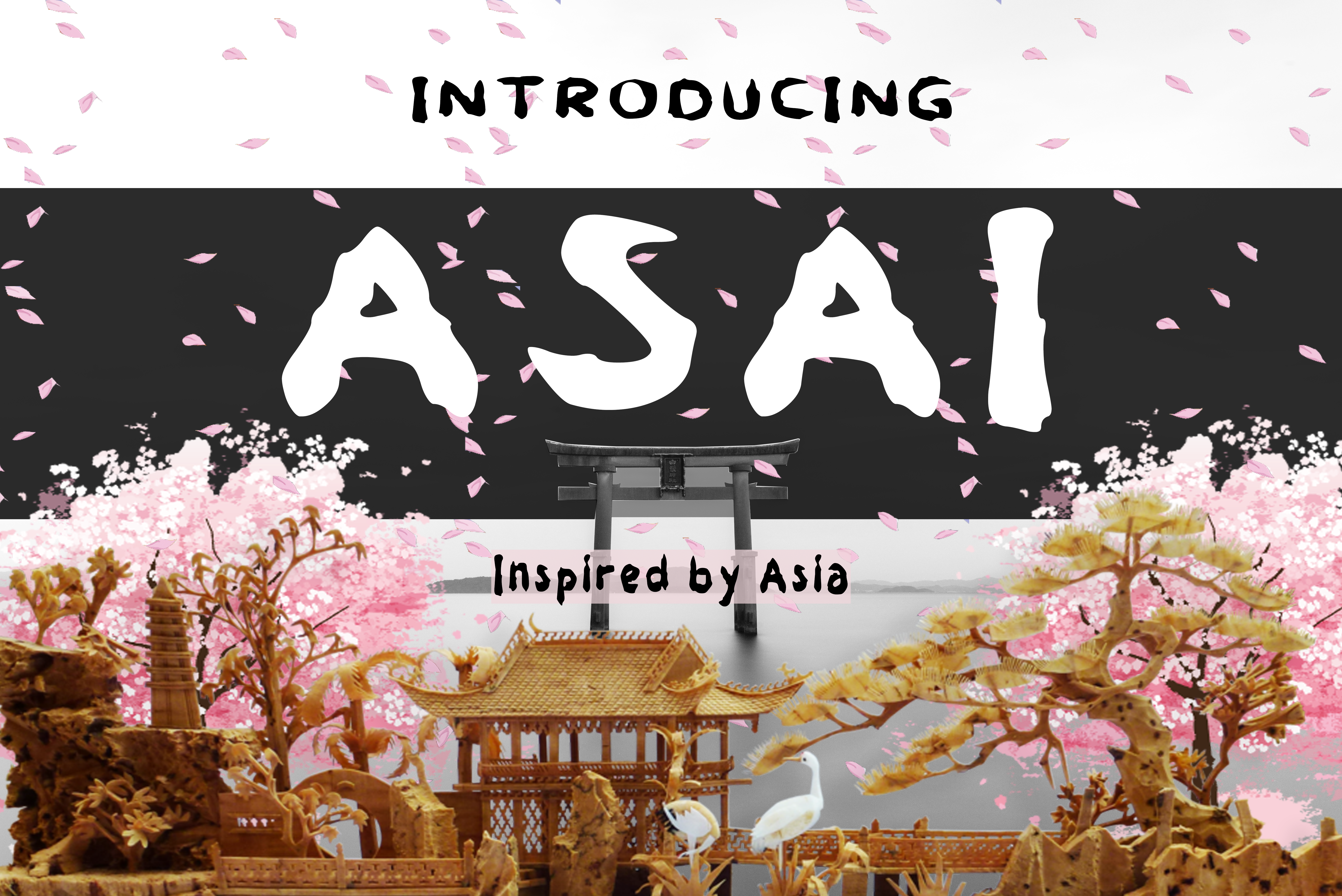 Asai Font By Boombage