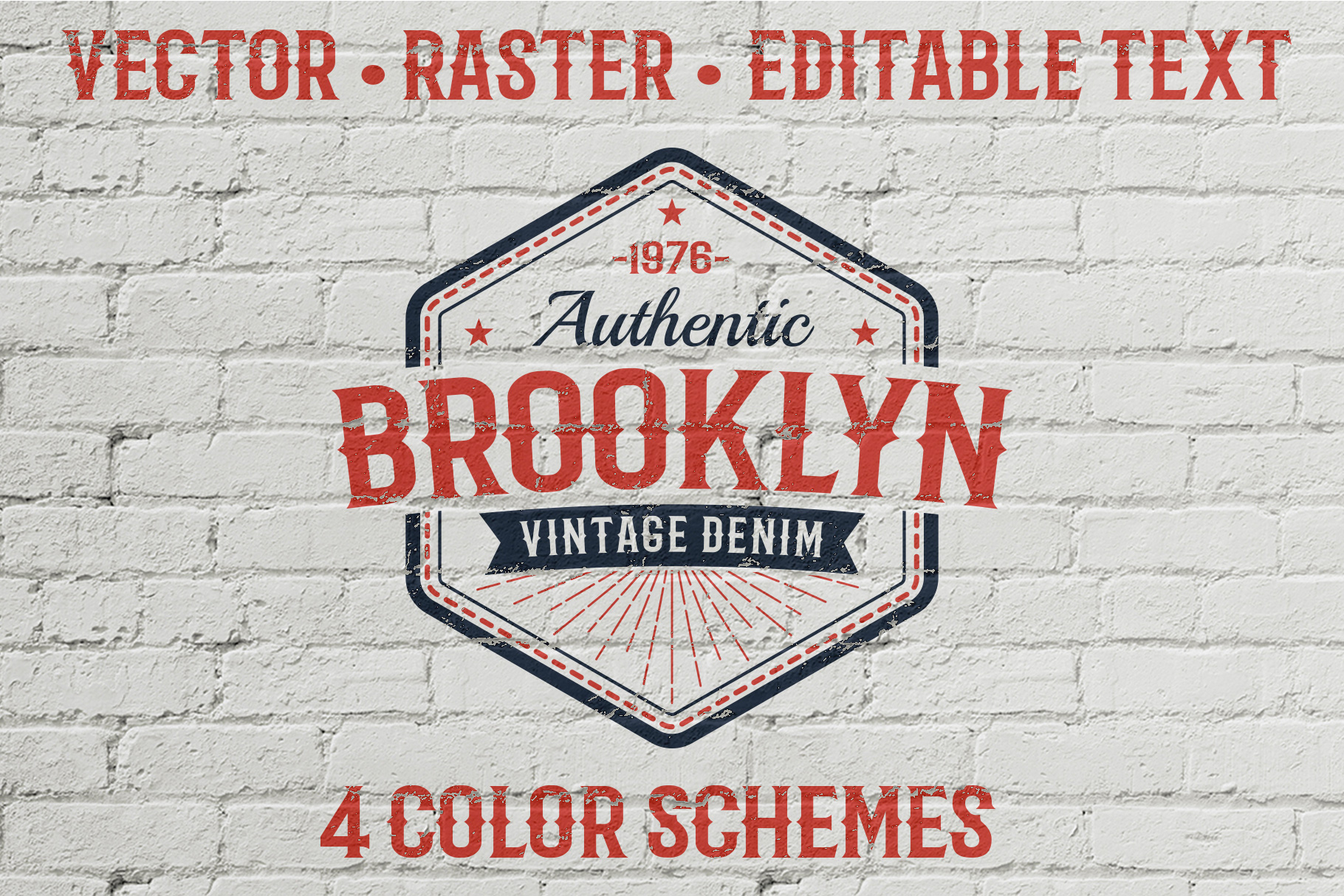 Authentic Vintage Logo Template Graphic By Agor2012