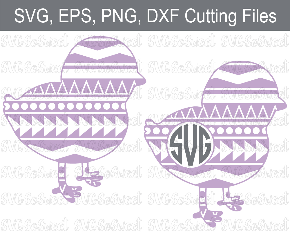 Aztec Chick Monogram Bundle - Graphic Graphic Crafts By Southern Belle Graphics - Image 1
