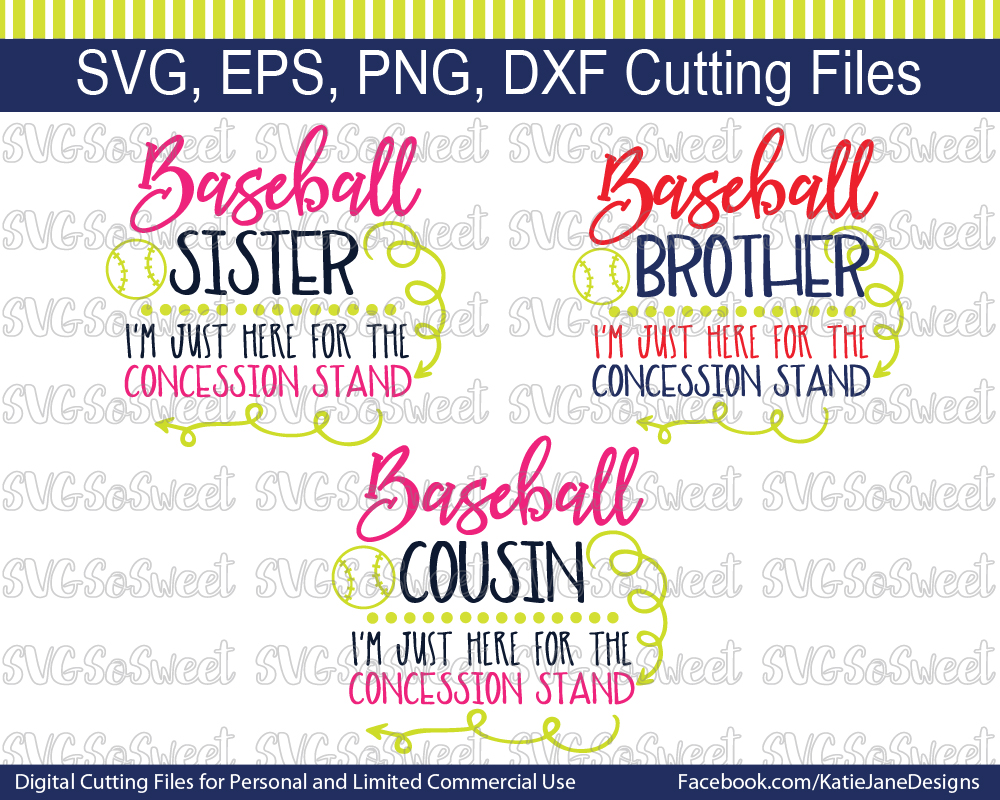 Baseball Bundle SVG Graphic Crafts By Southern Belle Graphics