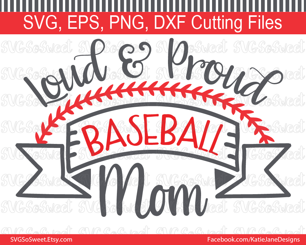 Baseball Mom SVG Graphic By Southern Belle Graphics
