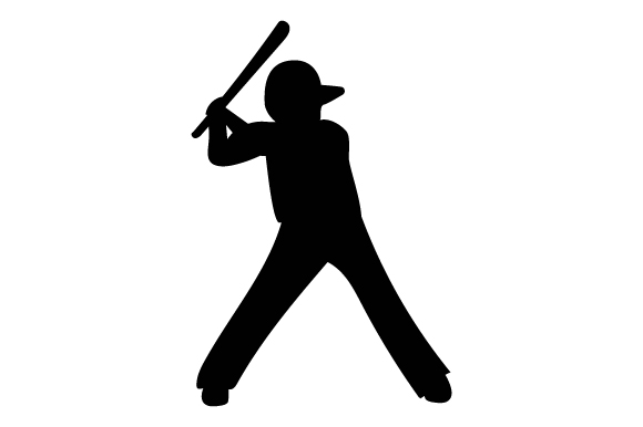 Download Free Baseball Player Svg Cut File By Creative Fabrica Crafts for Cricut Explore, Silhouette and other cutting machines.