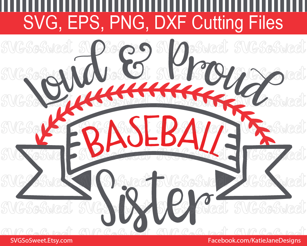 Baseball Sister Graphic By Southern Belle Graphics