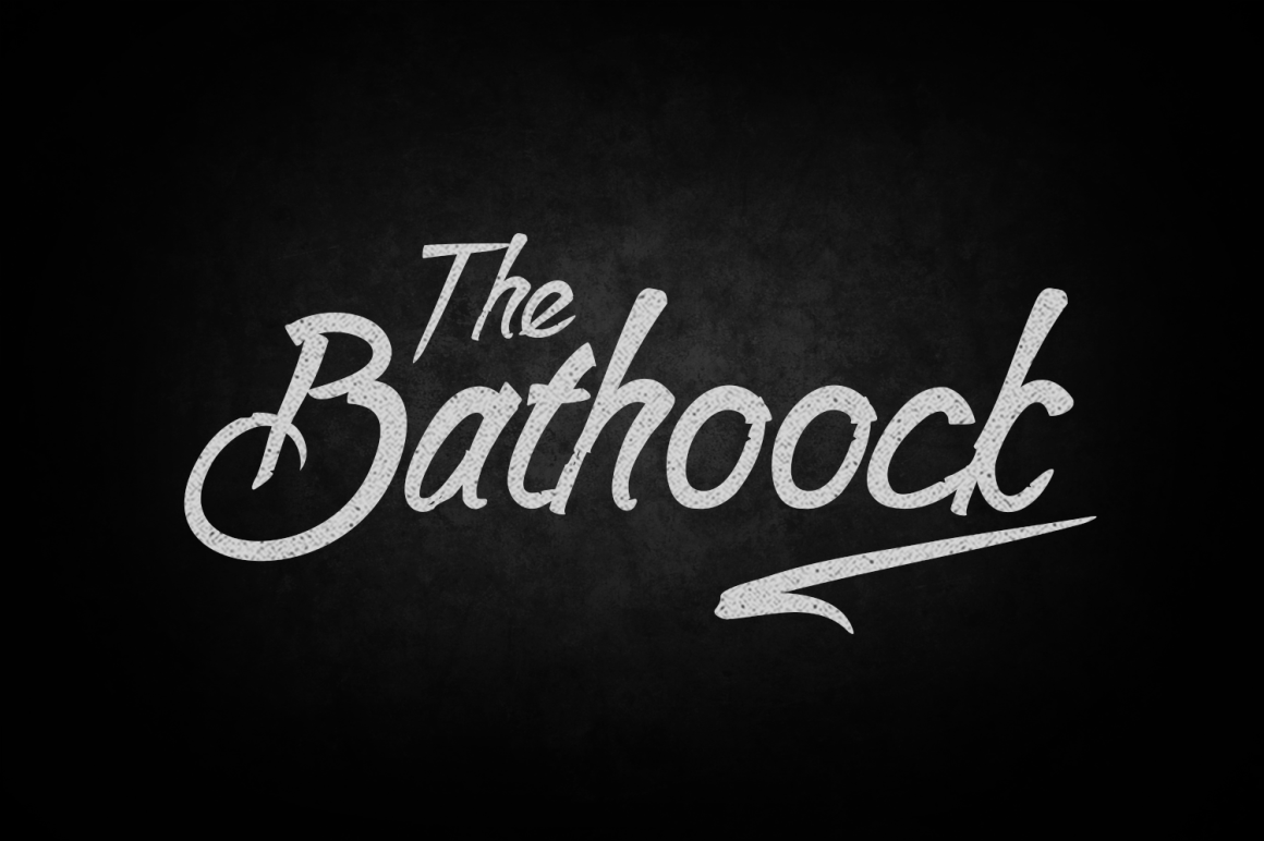 Print on Demand: Bathoock Script & Handwritten Font By tamaputra