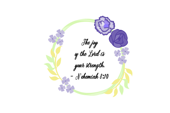 Download Free Bible Floral Wreath Svg Cut File By Creative Fabrica Crafts for Cricut Explore, Silhouette and other cutting machines.