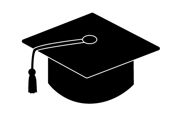 Download Free Black Graduation Cap Svg Cut File By Creative Fabrica Crafts for Cricut Explore, Silhouette and other cutting machines.