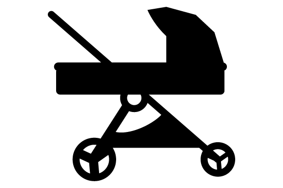 Download Free Blue Baby Stroller Svg Cut File By Creative Fabrica Crafts SVG Cut Files