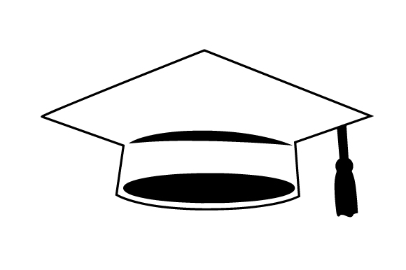 Download Free Blue Graduation Cap Svg Cut File By Creative Fabrica Crafts for Cricut Explore, Silhouette and other cutting machines.
