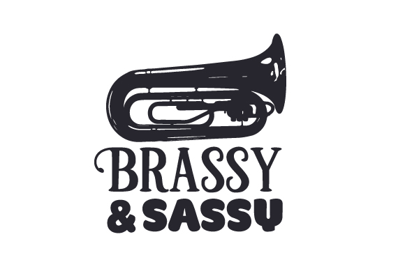 Download Free Brassy And Sassy Svg Cut File By Creative Fabrica Crafts for Cricut Explore, Silhouette and other cutting machines.