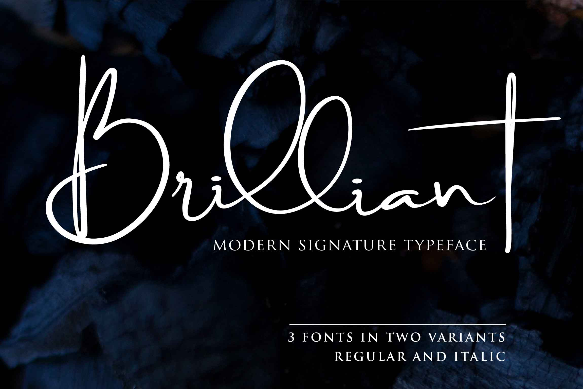 Print on Demand: Brilliant Script & Handwritten Font By Din Studio