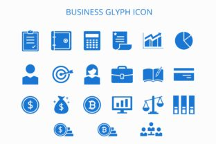 Business Glyph Icon Graphic By herbanuts