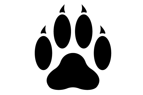 Download Free Cat Paw Print Svg Cut File By Creative Fabrica Crafts Creative for Cricut Explore, Silhouette and other cutting machines.