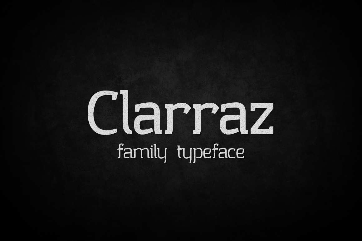 Print on Demand: Clarraz Slab Serif Font By tamaputra