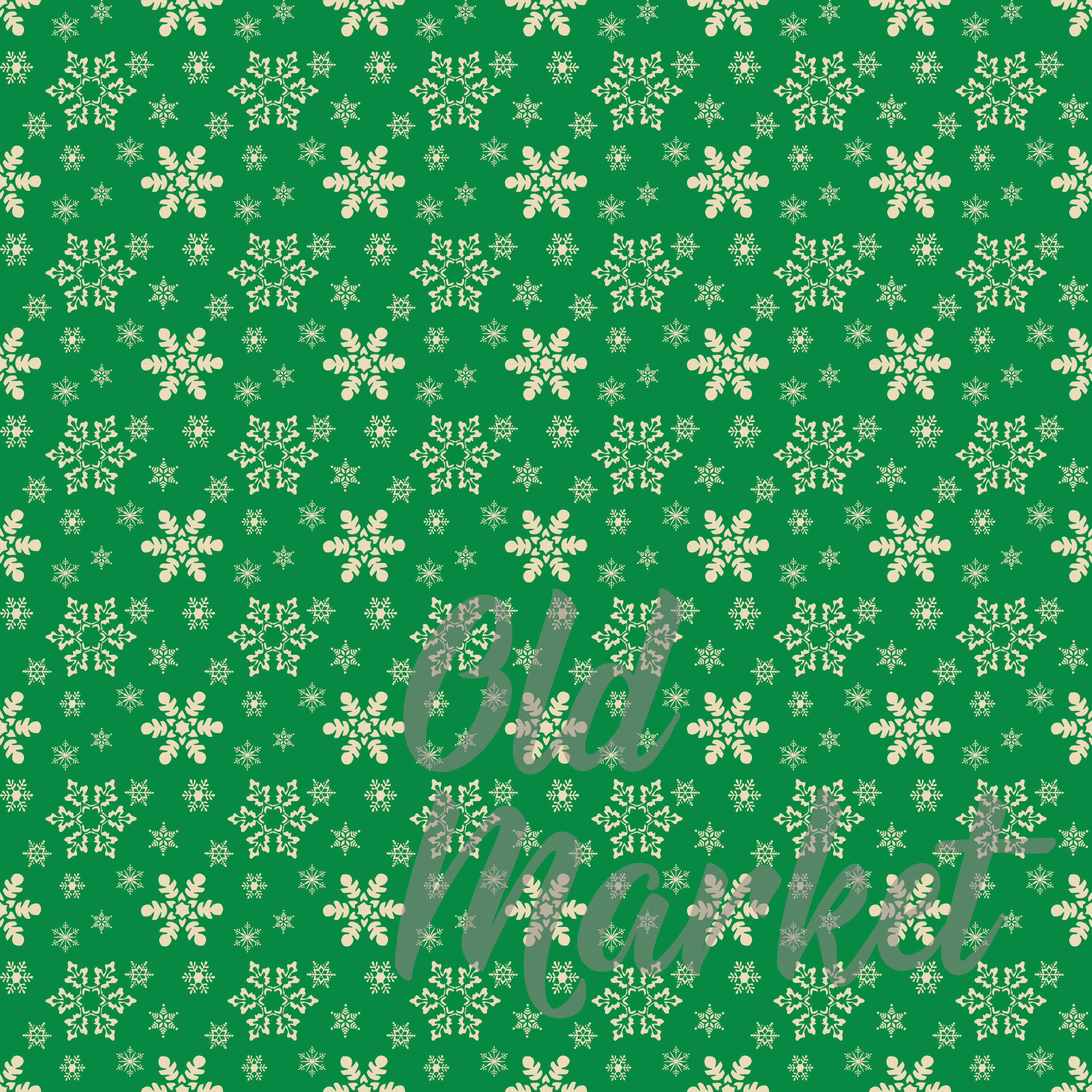 Classic Christmas Digital Paper Graphic By oldmarketdesigns Image 3