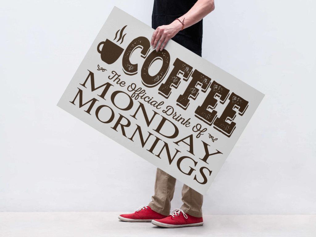 Download Free Coffee Quote In Printable And Cuttable Format Graphic By All for Cricut Explore, Silhouette and other cutting machines.