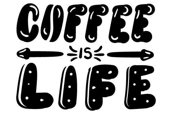 Download Free Coffee Is Life Svg Cut File By Creative Fabrica Crafts for Cricut Explore, Silhouette and other cutting machines.