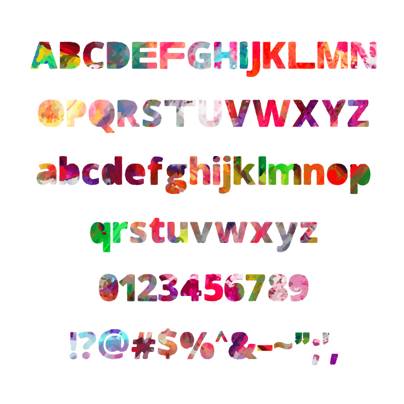 Print on Demand: Colorful Dream (Color Font) Color Fonts Font By shahab.siavash - Image 8
