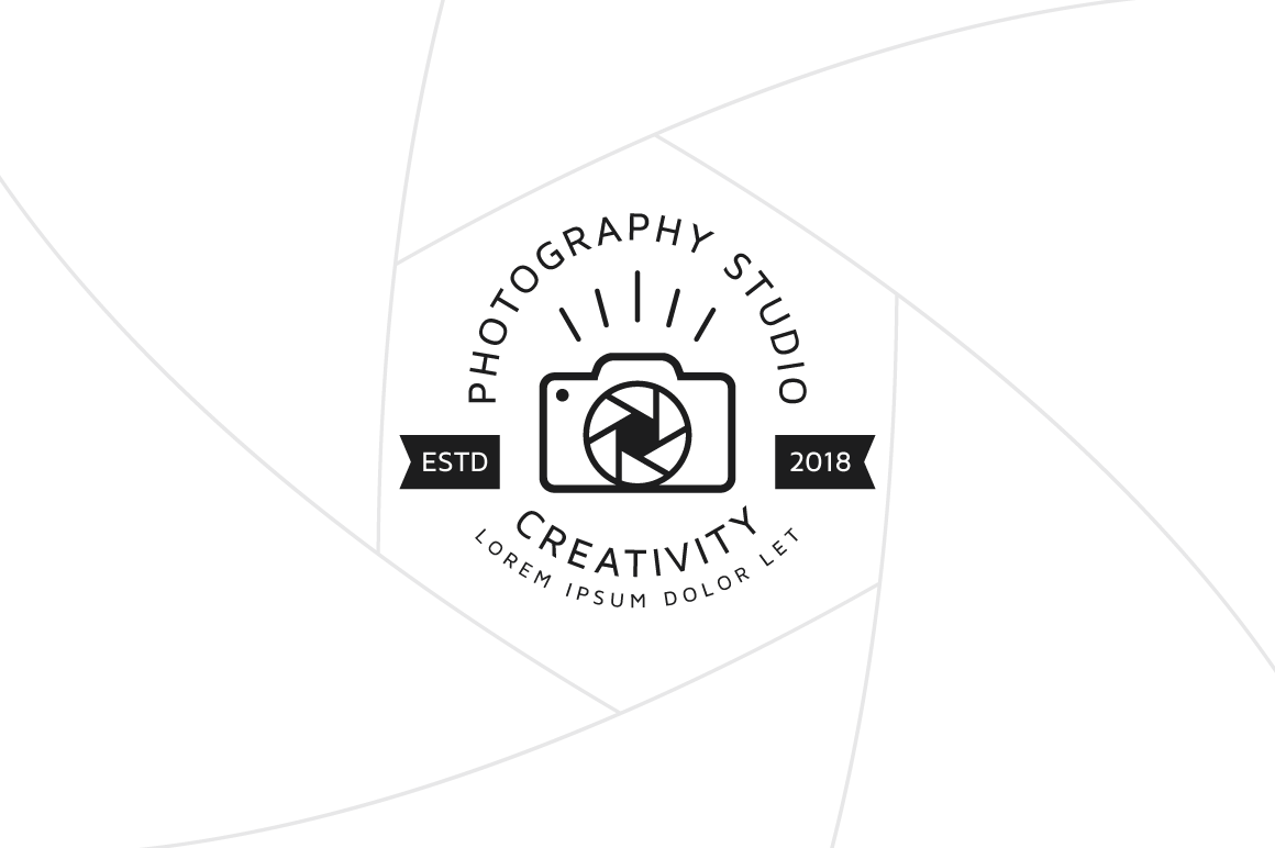 Creative Photography Logo Template Graphic Logos By Fand