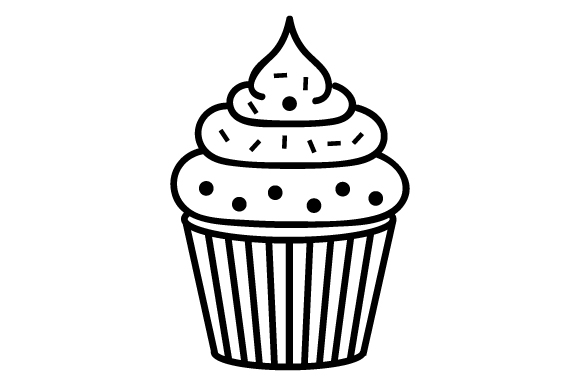 Download Free Cupcake Svg Cut File By Creative Fabrica Crafts Creative Fabrica for Cricut Explore, Silhouette and other cutting machines.