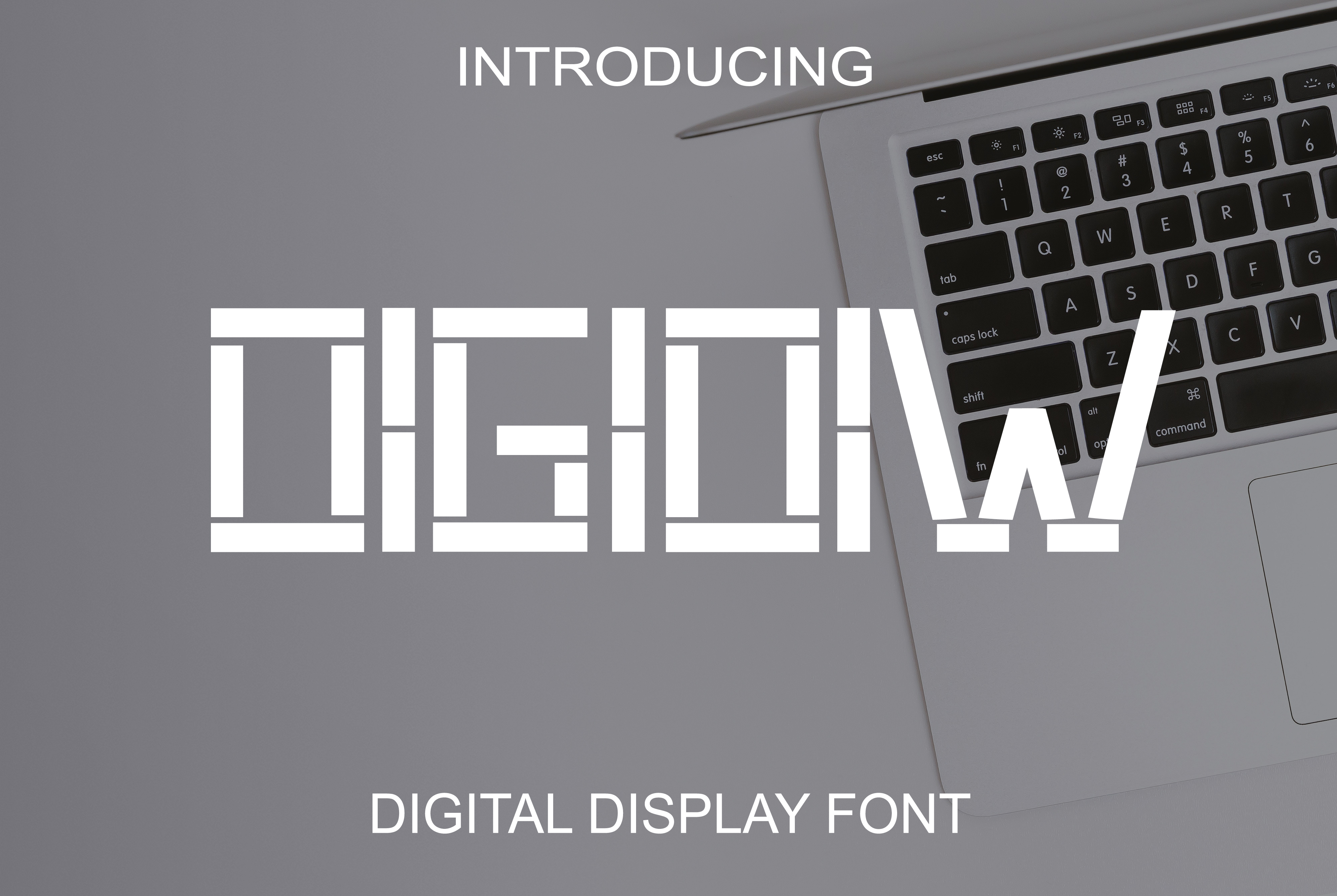 Digidiw Font By Boombage