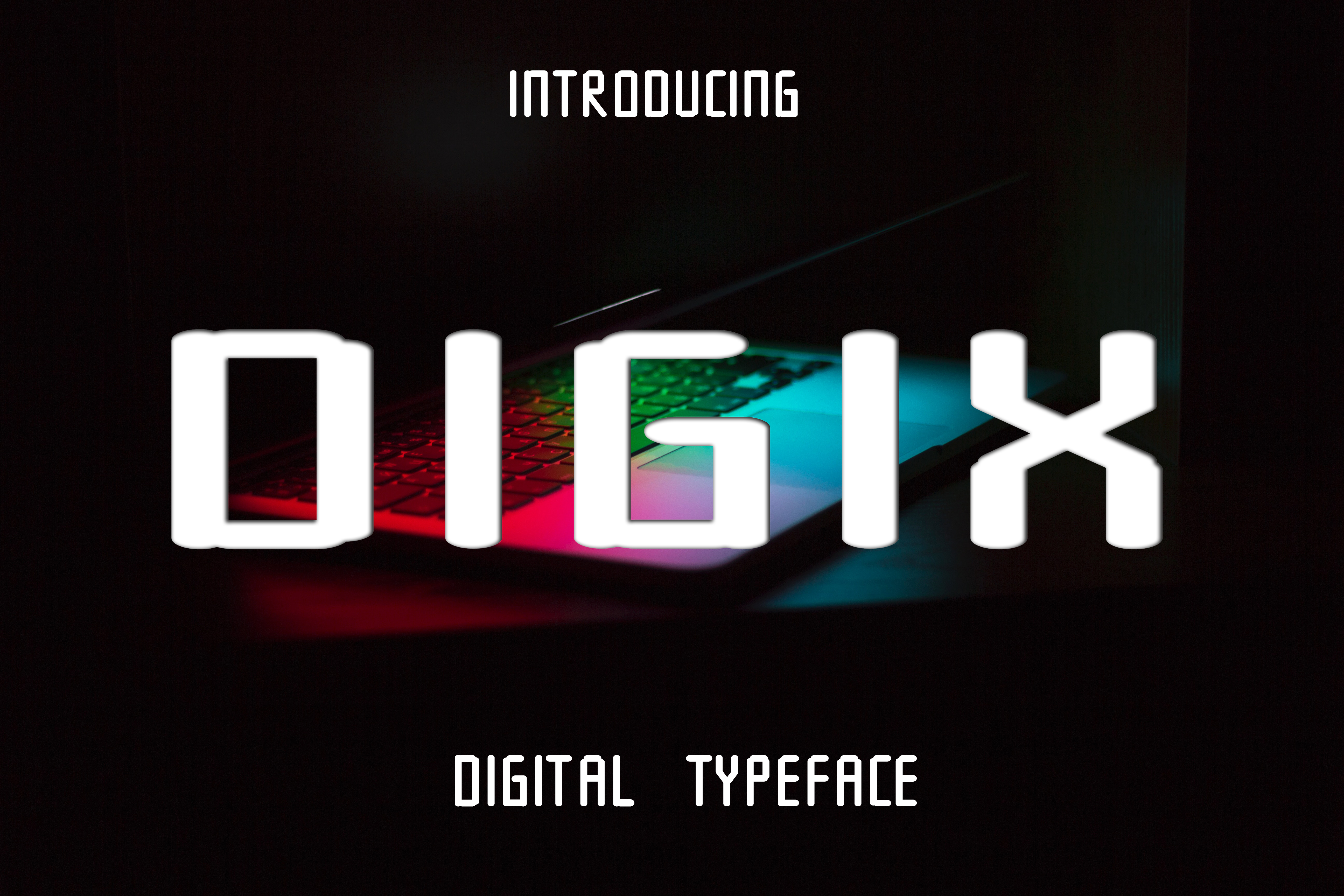 Digix Font By Boombage