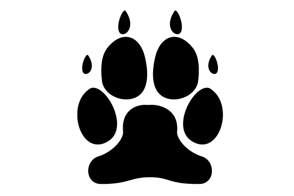 Download Free Dog Paw Print Svg Cut File By Creative Fabrica Crafts Creative for Cricut Explore, Silhouette and other cutting machines.