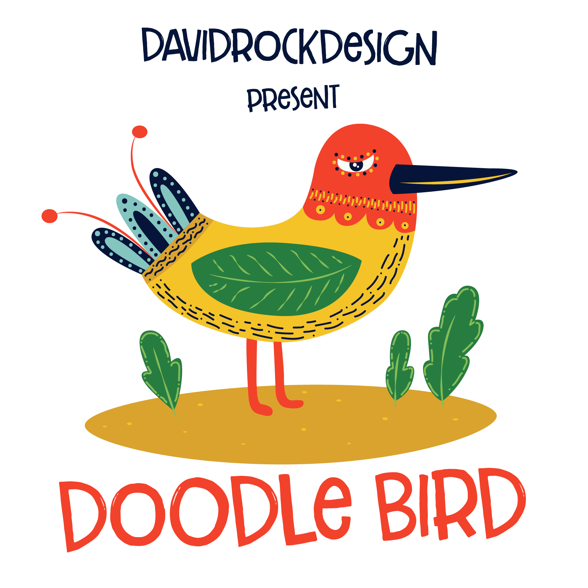 Download Free Doodle Bird Graphic By Davidrockdesign Creative Fabrica for Cricut Explore, Silhouette and other cutting machines.