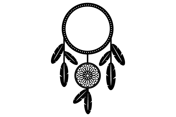 Download Free Dreamcatcher Monogram Svg Cut File By Creative Fabrica Crafts for Cricut Explore, Silhouette and other cutting machines.