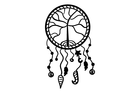 Download Free Dreamcatcher Archivos De Corte Svg Por Creative Fabrica Crafts for Cricut Explore, Silhouette and other cutting machines.