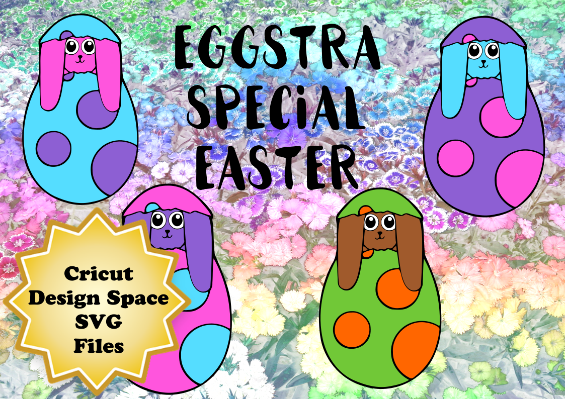 Download Free Easter Bunny Hatchlings Graphic By Sneaky Fox Entertainment for Cricut Explore, Silhouette and other cutting machines.