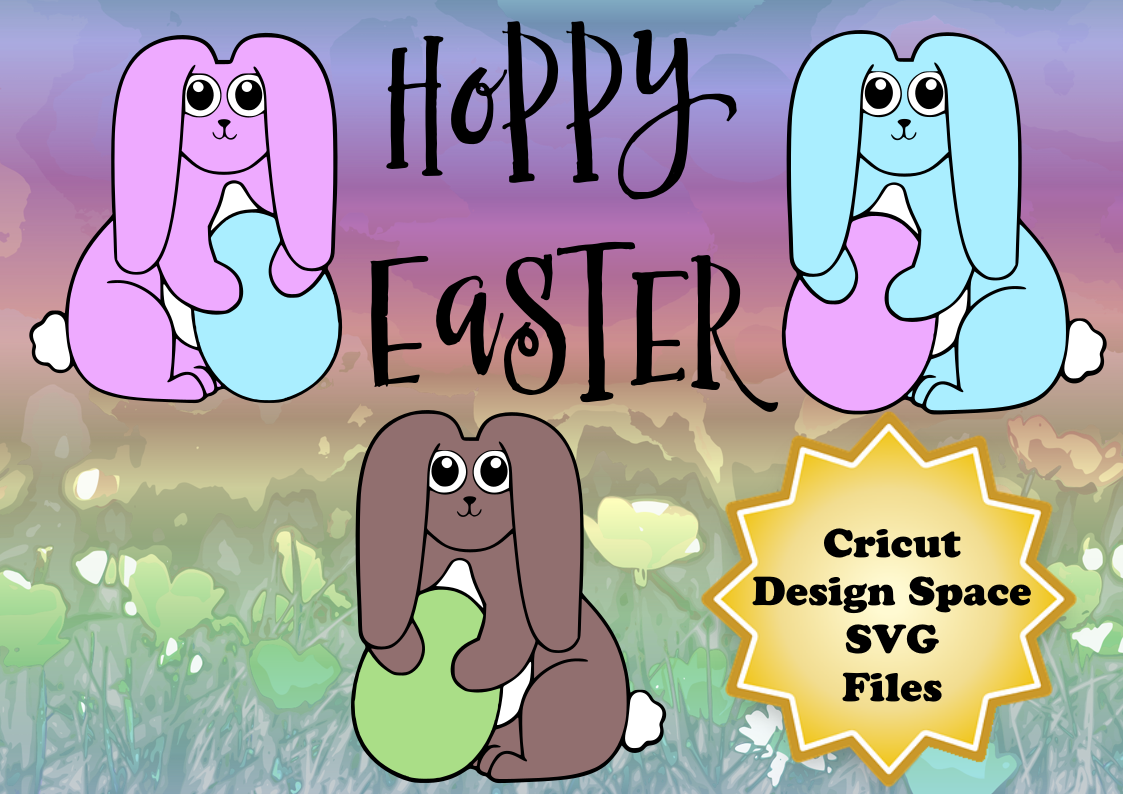 Easter Bunny Holding Egg Graphic Holidays By Sneaky Fox Entertainment