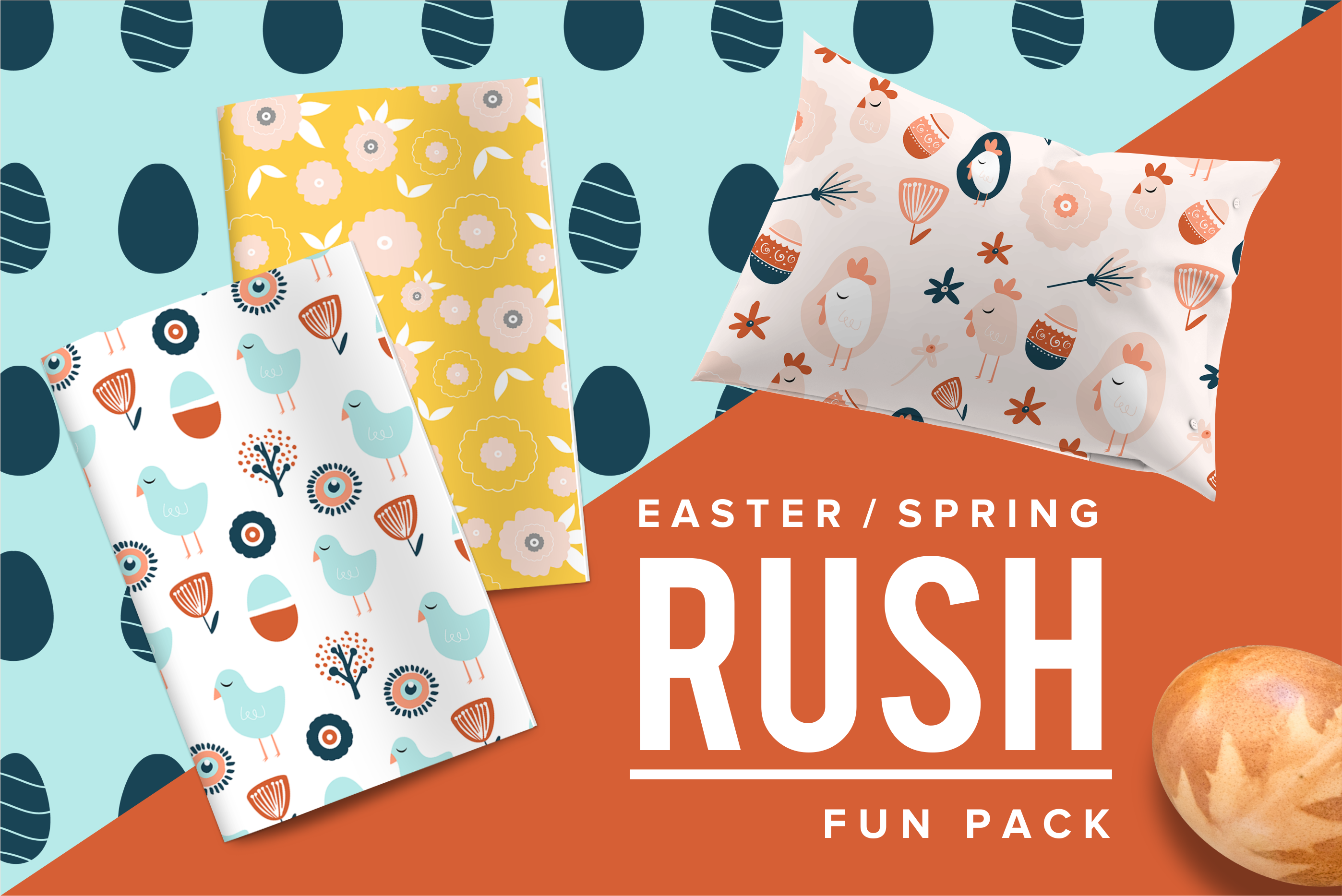 Easter Rush Fun Pack Graphic By Spasova