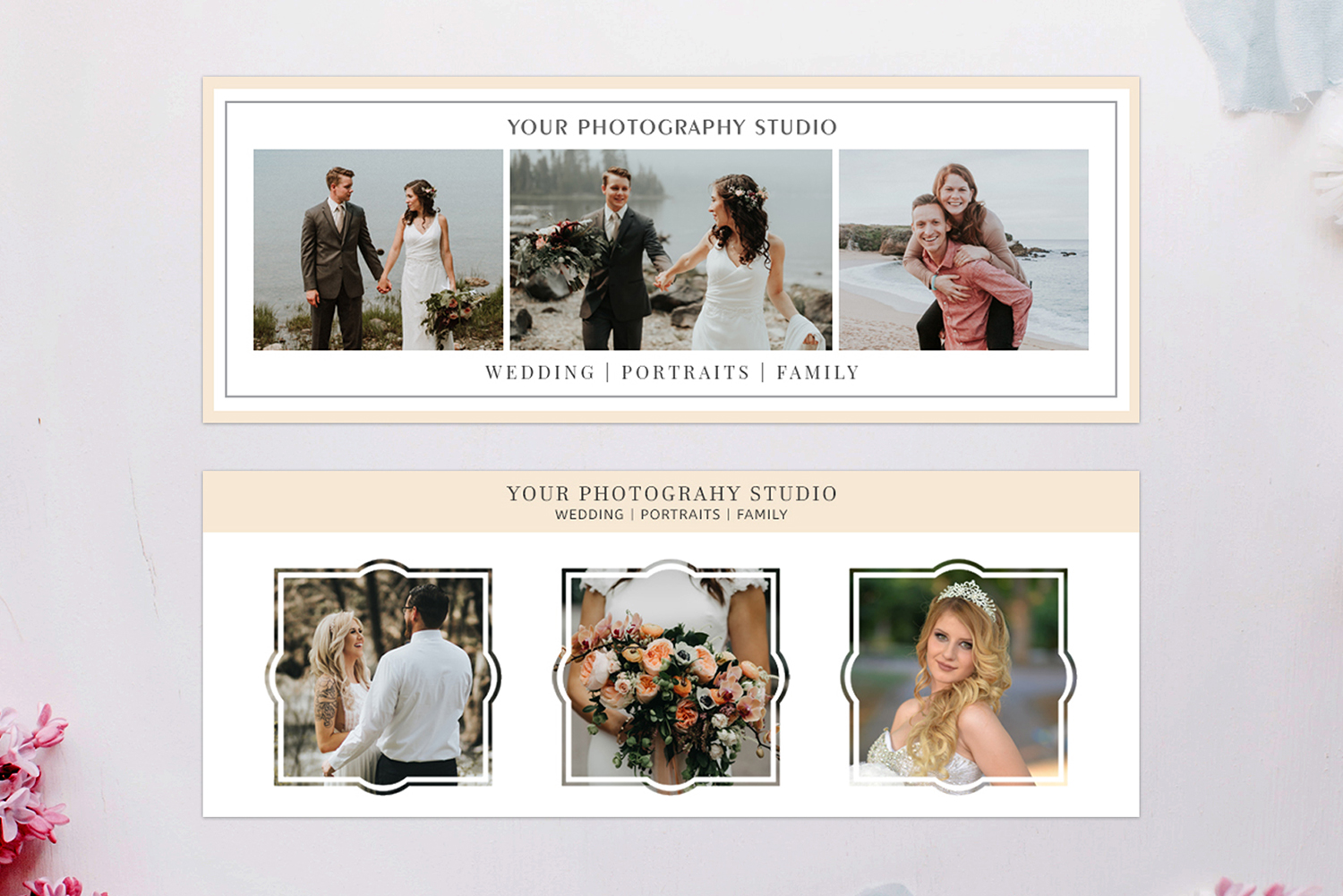 Print on Demand: Facebook Cover Template for Photography Graphic Web Templates By Creative Tacos - Image 2