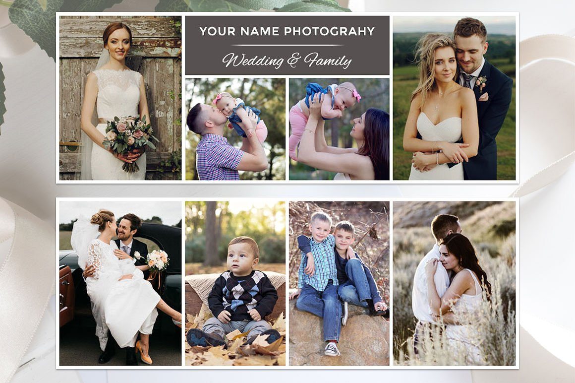 Print on Demand: Facebook Photography Template Graphic Graphic Templates By Creative Tacos - Image 2