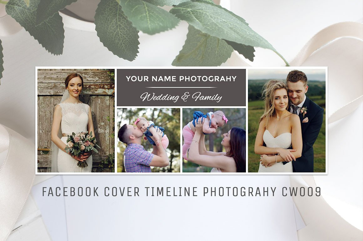 Print on Demand: Facebook Photography Template Graphic Graphic Templates By Creative Tacos - Image 1