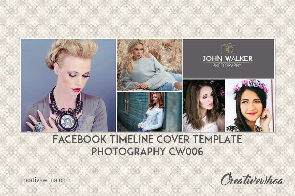 Print on Demand: Facebook Timeline Cover Template Photography Graphic Graphic Templates By Creative Tacos