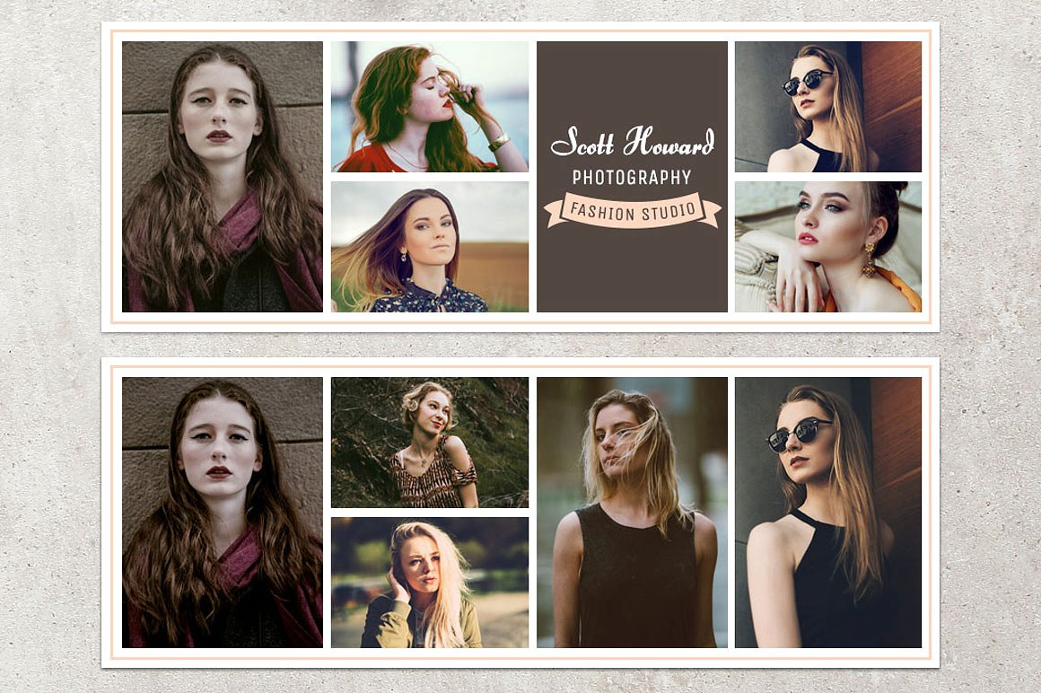 Print on Demand: Facebook Timeline Cover Template Photography Graphic Graphic Templates By Creative Tacos - Image 2