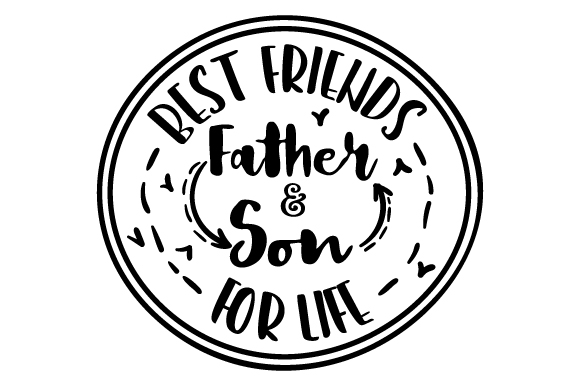 Download Free Father Son Best Friends For Life Archivos De Corte Svg Por for Cricut Explore, Silhouette and other cutting machines.