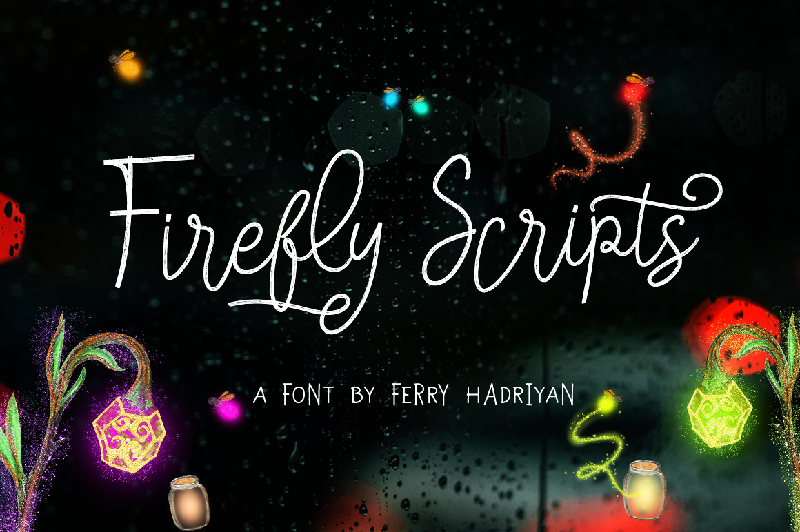Firefly Font By feydesign