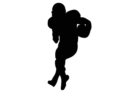 Download Free Football Player Svg Cut File By Creative Fabrica Crafts SVG Cut Files