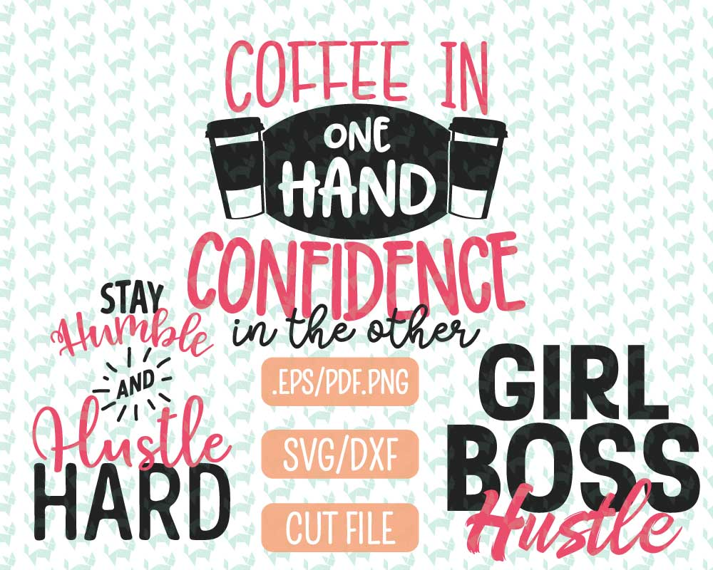 Girl Boss Svg Bundle Graphic By Fidgety Fox Designs